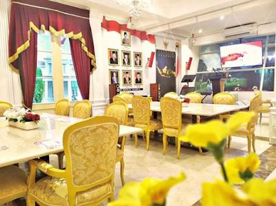 Yuk Menikmati Kuliner di Resto Teras Istana, Sensasi Wisata Kuliner Tamu Presiden