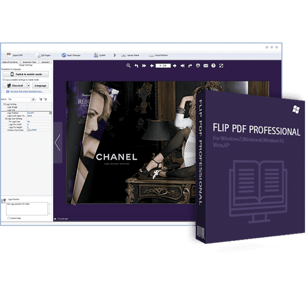 Flip PDF Professional v2.4.9.32 Full version