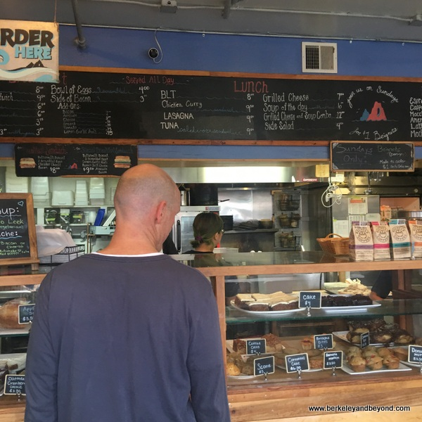 order counter at Devil's Teeth Baking Co. in San Francisco, California