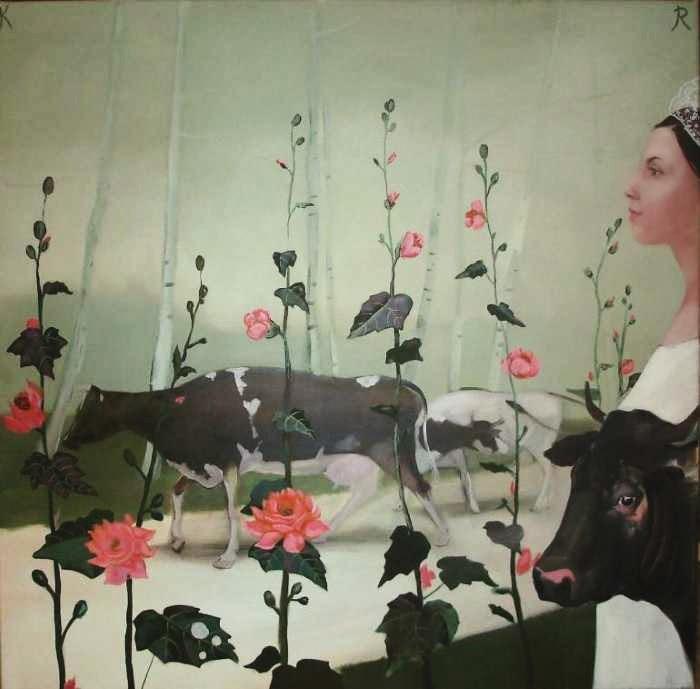 Латвийская художница. Karina Rungenfelde
