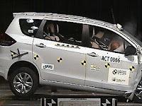 Uji Tabrak, Suzuki Ciaz Lebih Aman dari Ertiga