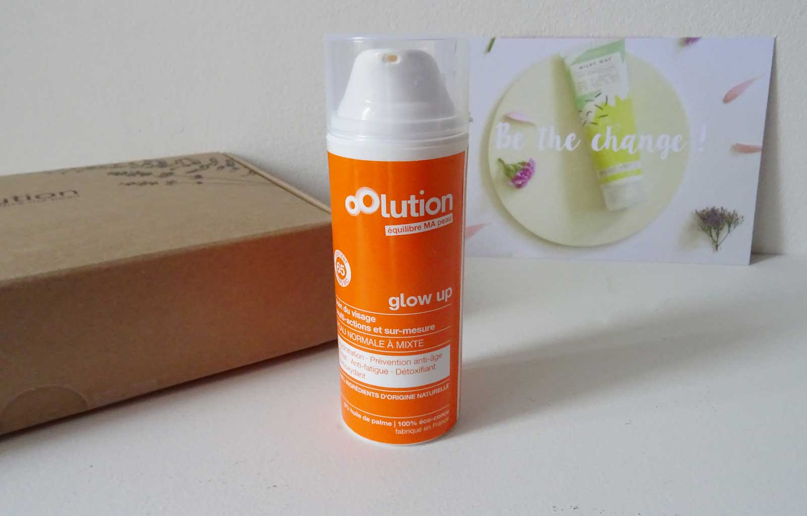 crème hydratante Glow Up oolution