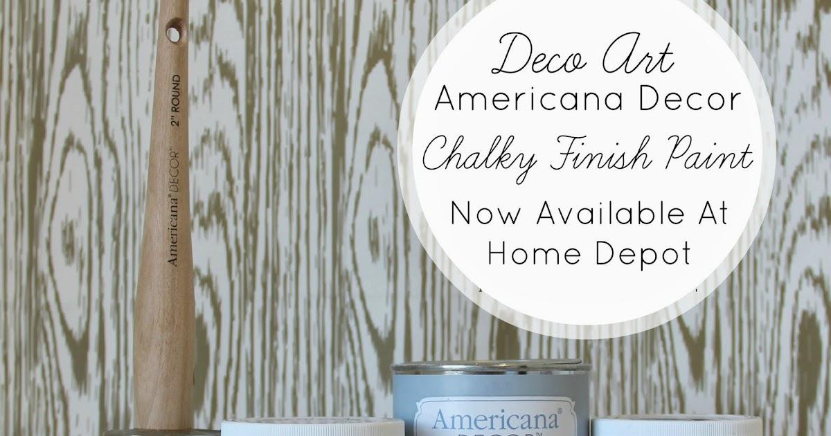 Funky Junk: Americana Decor Chalky Finish Paint