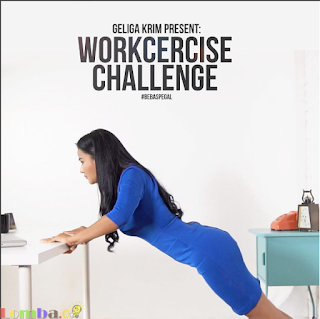 Lomba Video Workcercise Challenge by Geliga Hadiah HP Dan Voucher MAP