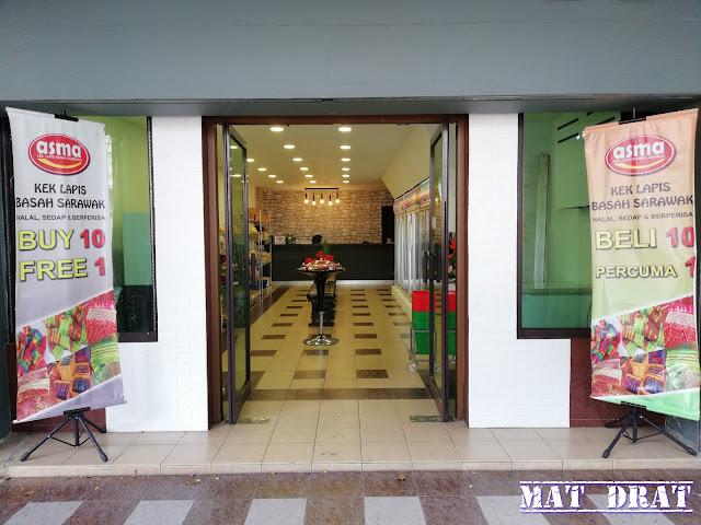 Kek Lapis Asma Sarawak di Kuching Sedap