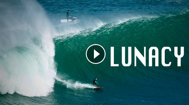 Lunacy the scariest reef slab break