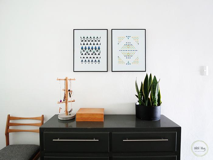DIY paper weaving wall art