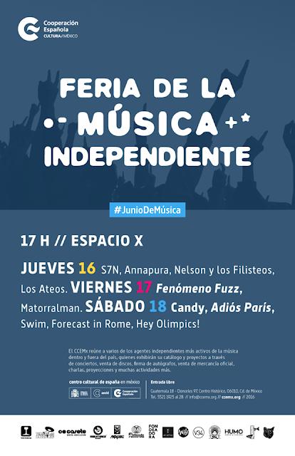 Feria de la música independiente en Centro Cultural de España