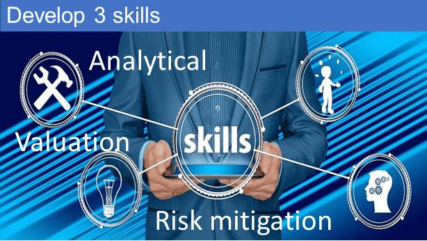 Develop 3 skills