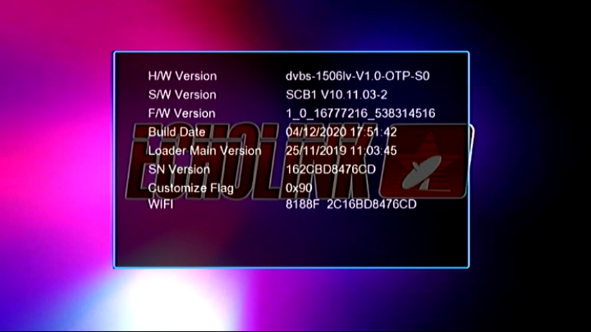 1506LV BUILT IN WIFI ECHOLINK E-I7000 PLUS