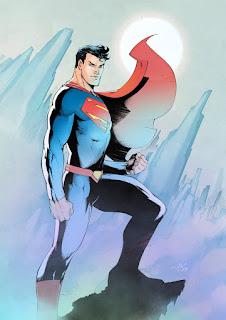 Art Of, Viktor Bogdanovic, comics, DC, batman, new super-man