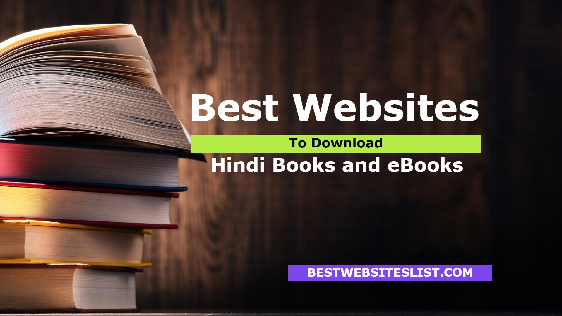 Best Websites To Download Hindi Books and eBooks