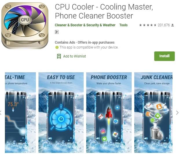 1 aplikasi pendingin hp android tanpa iklan