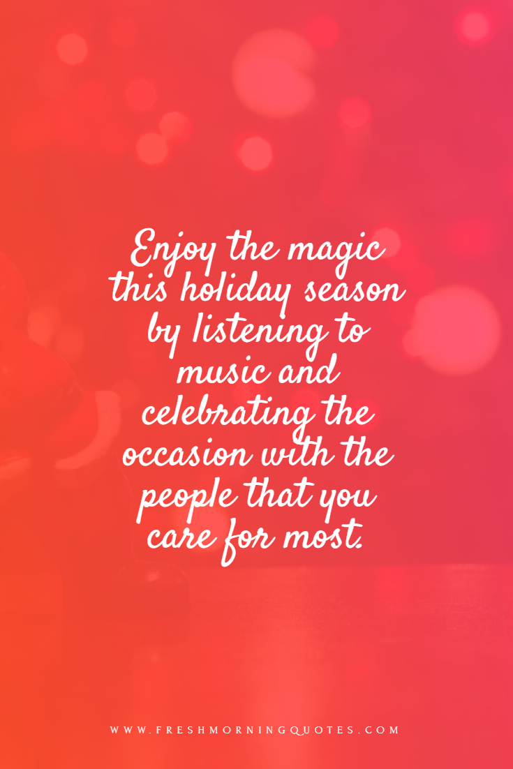 enjoy the magic this holiday season