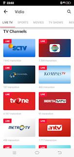 Free online TV app