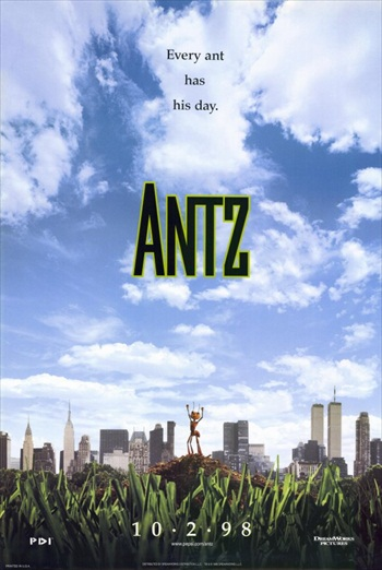 Antz 1998 Dual Audio Hindi 720p WEB-DL 700mb