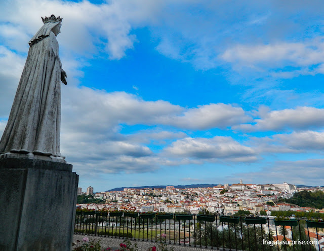 Coimbra vista do Convento de Santa Clara-a-Nova
