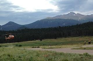 Hiker Struck By Lightning Strike in Rocky Mountain National Park