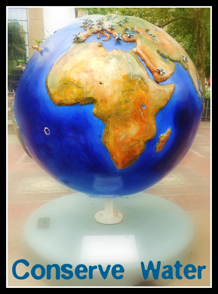 The Cool Globes en Boston: Conserve Water