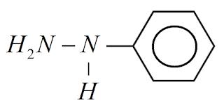 formula quimica fenilhidrazina
