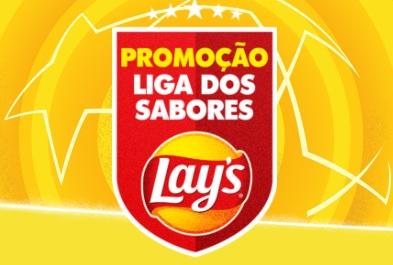 Cadastrar Promoção Liga dos Sabores Lays 2021