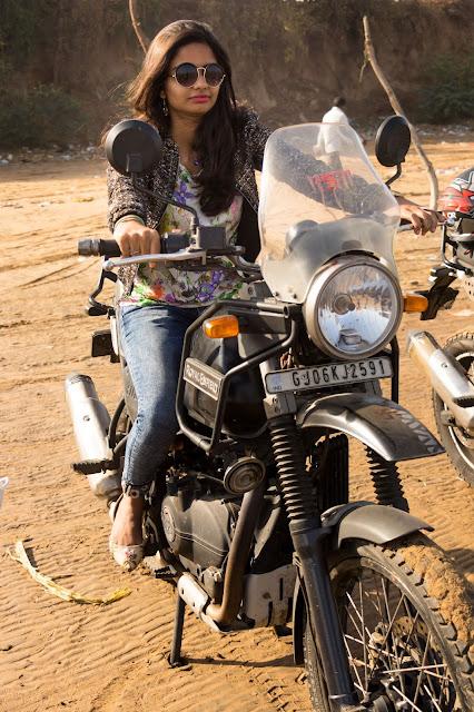 Casual Abstractions, Royal Enfield, Kavi Kamboi, Gujarat, Bike