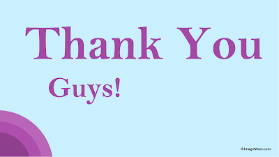 Images of Thank You Guys, Thank You Guys Images