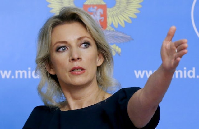 Russian spokeswoman Maria Zakharova compares Vucic-Trump with the Basic Instincts cene with Sharon Stone