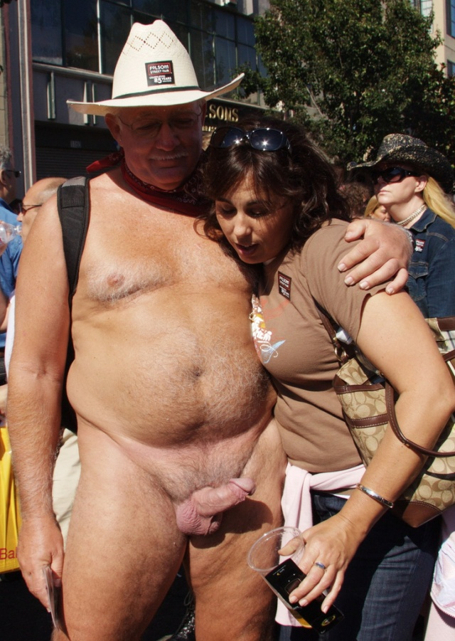 naked couples on the street