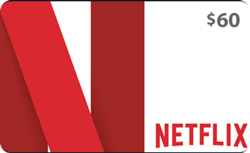 Free Netflix Gift Card Code Generator 60$