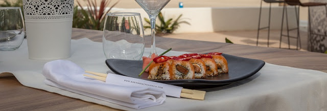 Restaurante japonés del marina beach club valencia