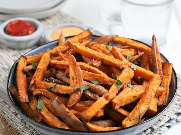 Air Fryer: Sweet Potatoes