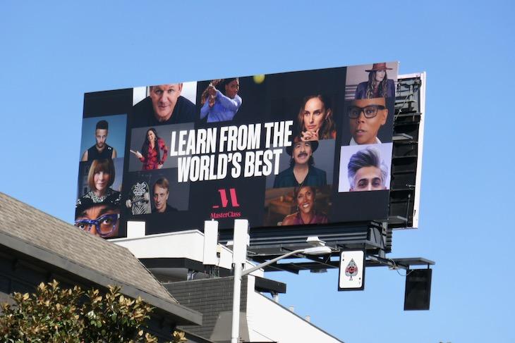Learn from Worlds Best MasterClass billboard