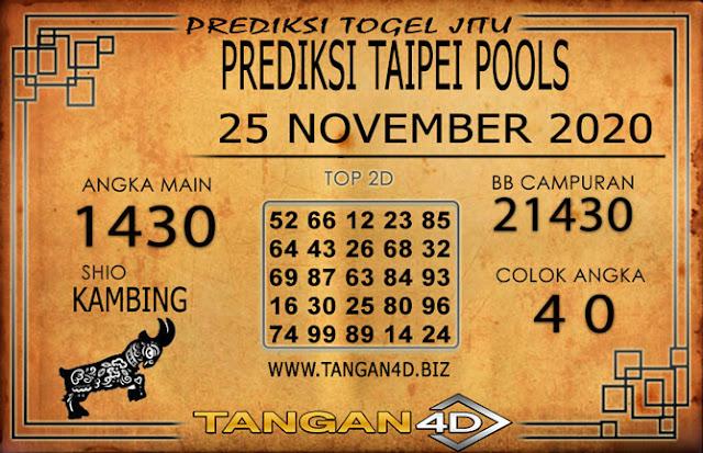 PREDIKSI TOGEL TAIPEI TANGAN4D 25 NOVEMBER 2020