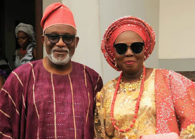 "Ondo State Governor's Wife ""Mrs Betty Anyanwu-Akeredolu and her Securities Test positive for Coronavirus"