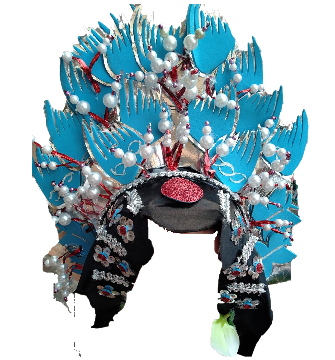 Peking Opera Wunda headdress