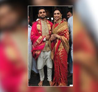 Deepika Padukone, Ranveer Singh From Tirupati