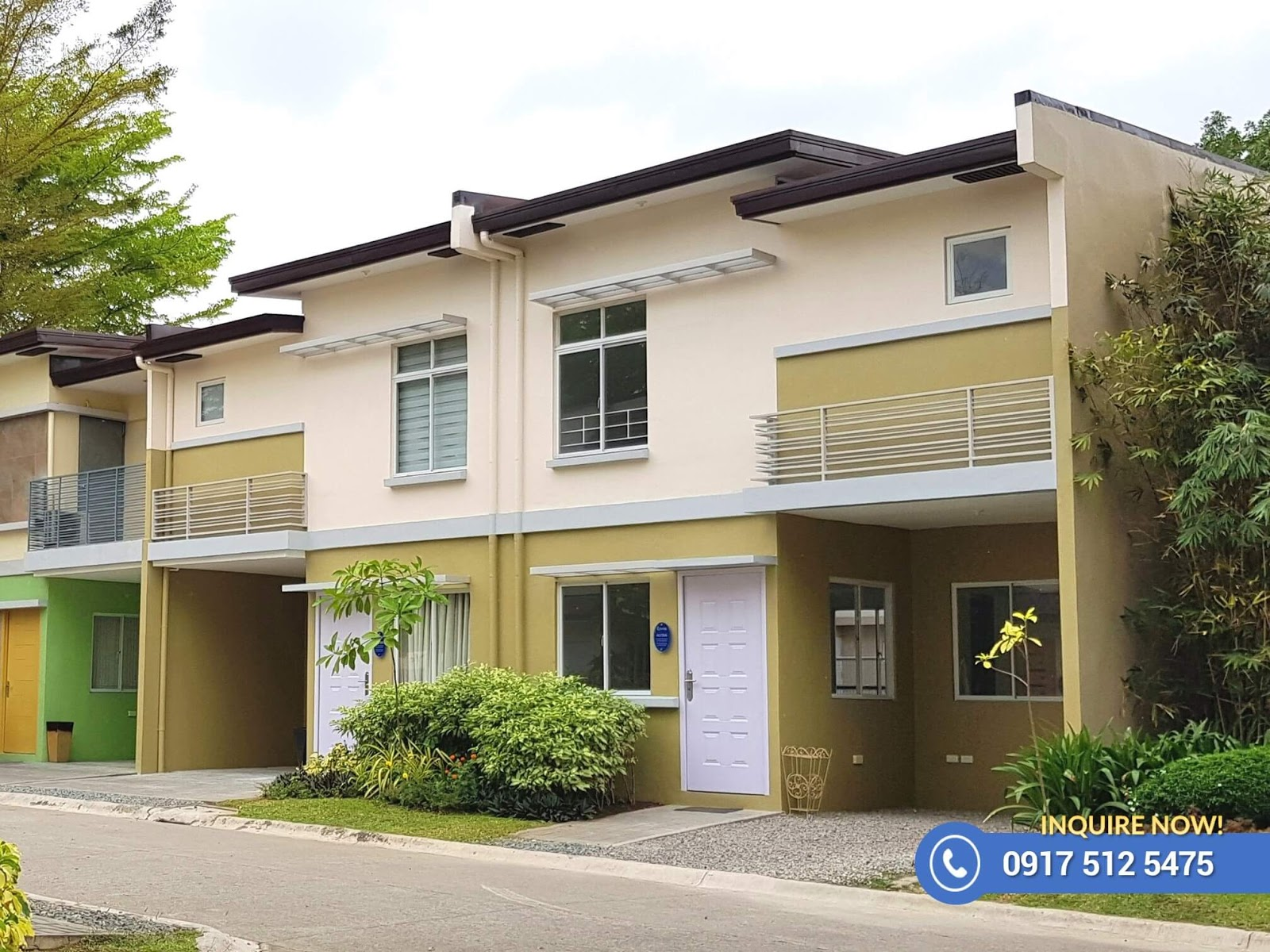 Alyssa With Fence - Lancaster New City Cavite   House and Lot for Sale General Trias Cavite