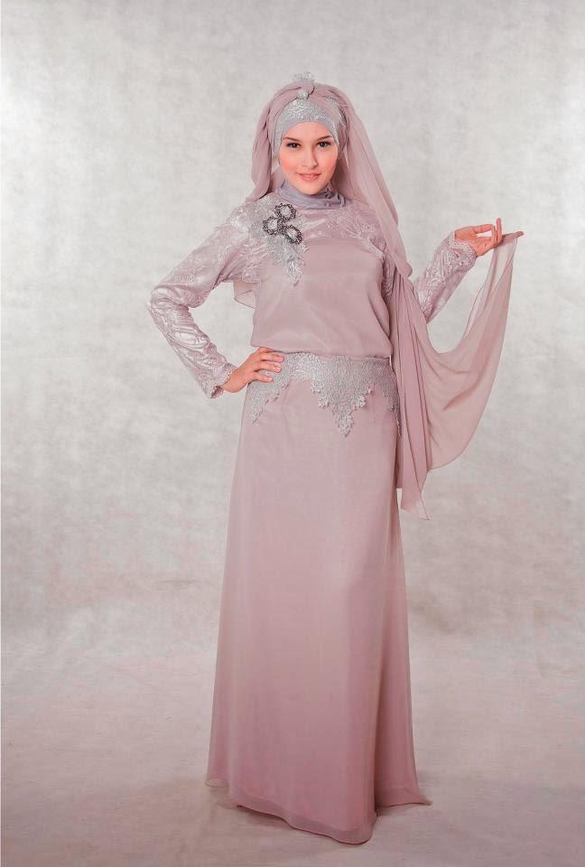 Foto Baju Gaun Muslim untuk wanita muslimah