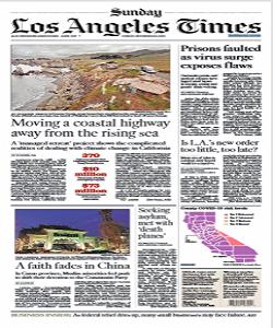 Los Angeles Times Magazine 29 November 2020 | Los Angeles News | Free PDF Download