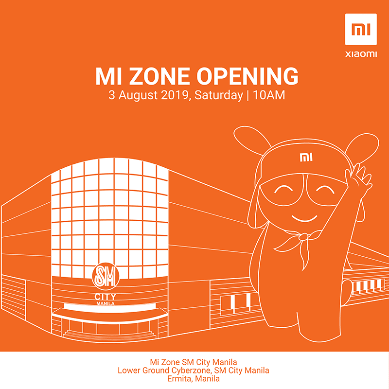 Xiaomi to open a new Mi Zone store in SM City Manila!