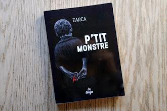 Lundi Librairie : P'tit monstre - Johann Zarca