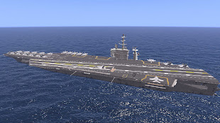 arma3用空母アドオン USS ニミッツ