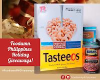 Foodamn Philippines Holiday Giveaways #FoodamnPHGiveaways