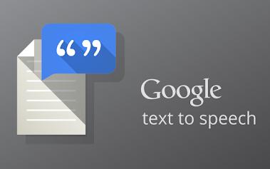 Google text speech apps android text to speech