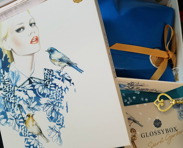 September's GLOSSYBOX Top, The Secret Garden Theme By Beauty by Barbie's Beauty Bits