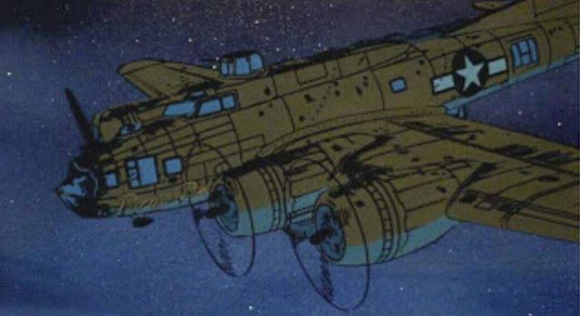 B-17 scene Heavy Metal worldwartwo.filminspector.com