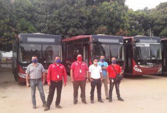 Retornaron al país 300 venezolanos  movilizados por Trolebús Mérida desde Táchira