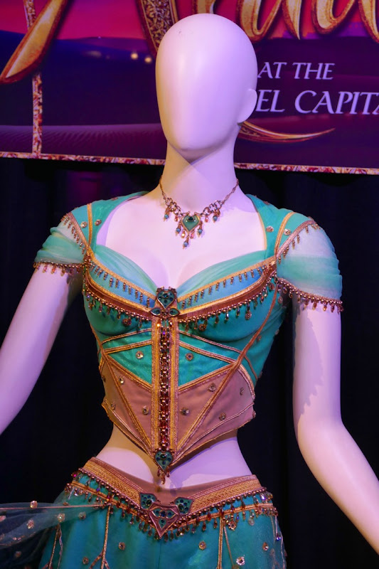 Princess Jasmine movie costume Aladdin