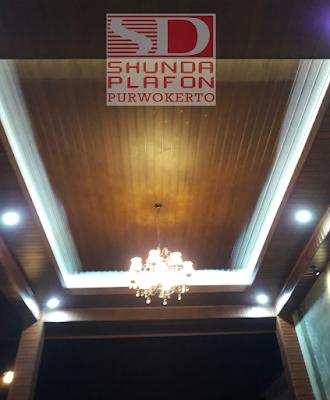 Pemasangan Shunda Plafon Rumah Pak Khelmi - Shunda Plafon Purwokerto